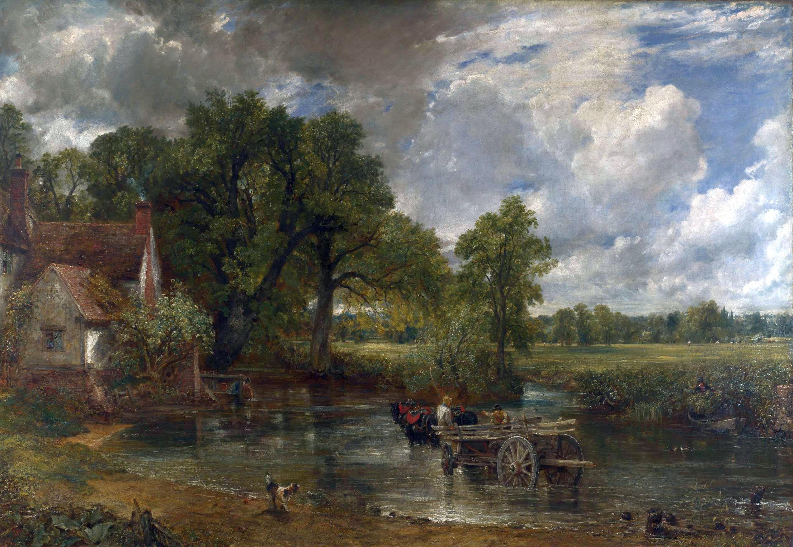 Constable au Salon de Paris : un peintre anglais déroute les critiques français