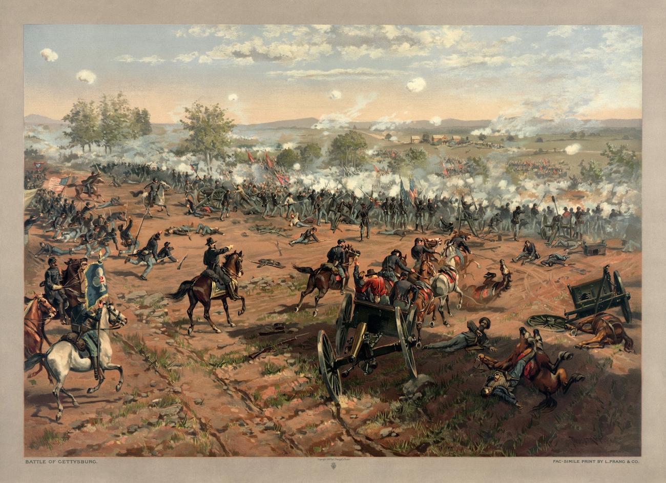 Gettysburg, grand tournant de la Guerre civile américaine