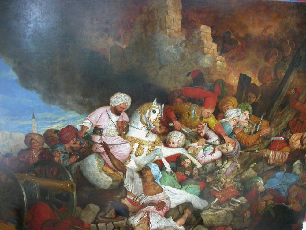 La dissolution et le massacre des janissaires ottomans