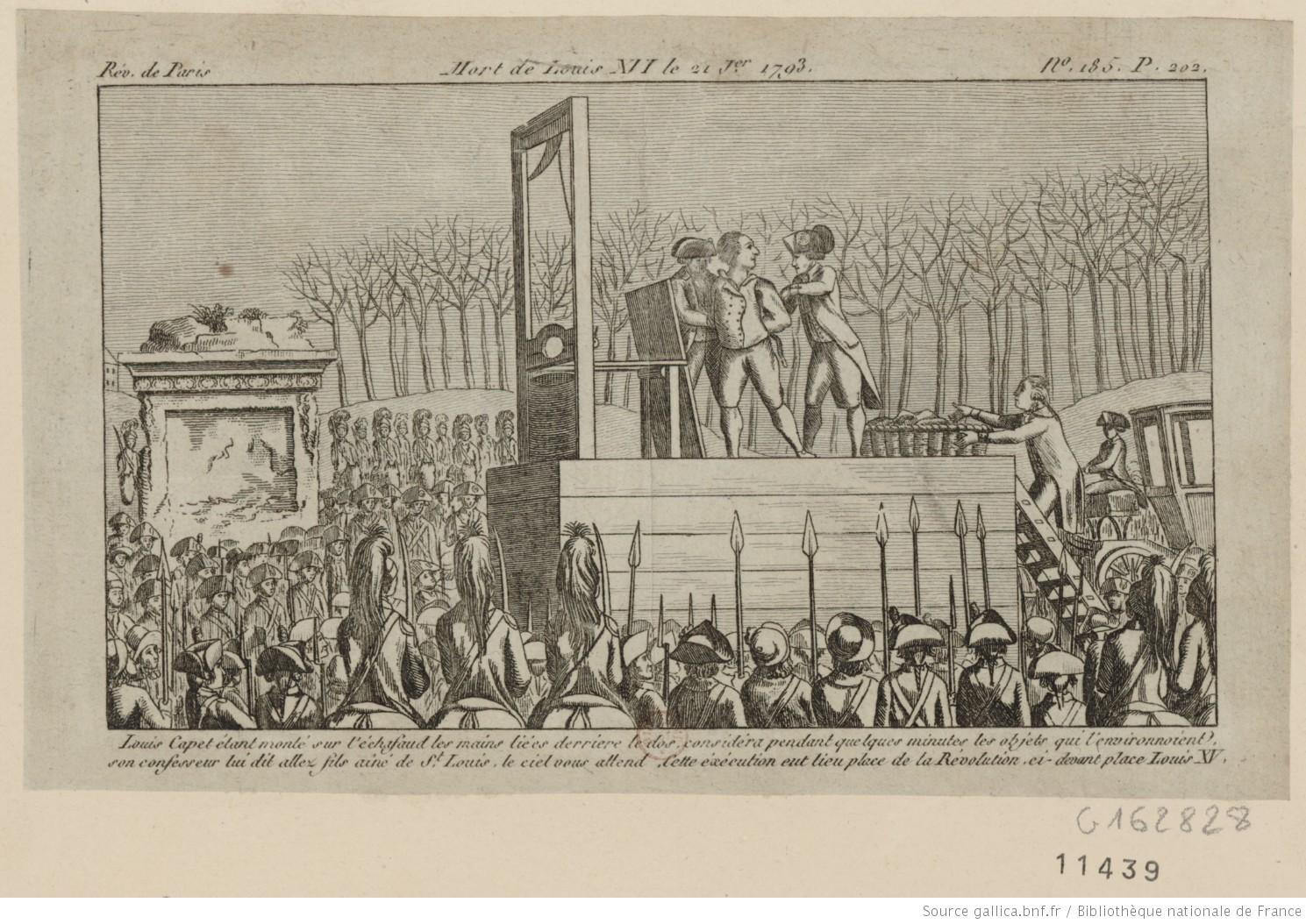 21 janvier 1793 : le roi Louis XVI est guillotiné