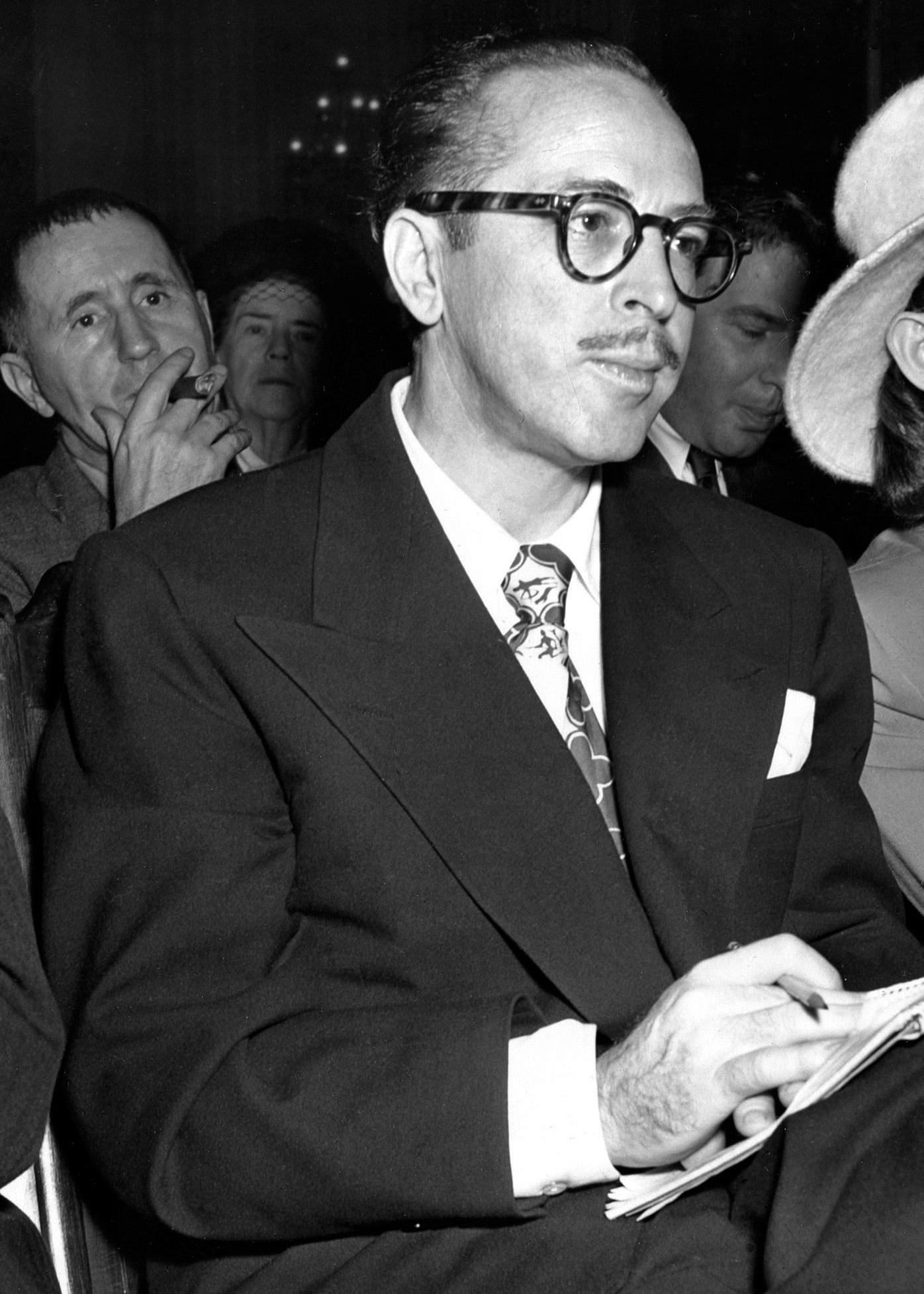 Dalton Trumbo et les « dix d'Hollywood », interdits d'écran parce que communistes