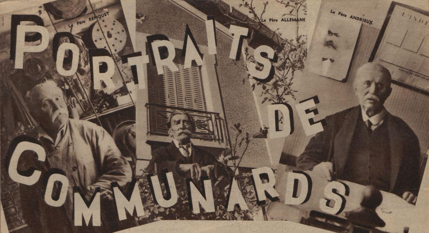 1934 : Interviews des derniers Communards, 63 ans après La Commune