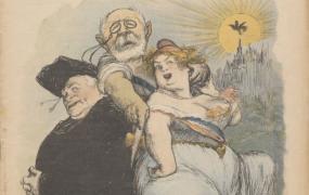 Le Rire : journal humoristique ; Charles Léandre [caricaturiste] ; F. Juven (Paris) ; 20 mai 1905 - Source BnF.