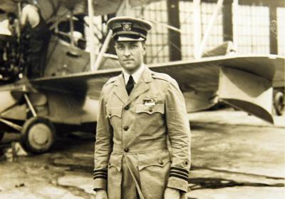 Richard Evelyn Byrd ; Source - San Diego Air and Space Museum Archive