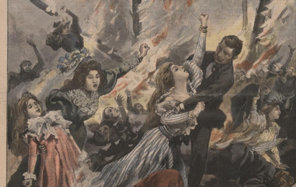 Le Petit Journal. Supplément du dimanche ; [s.n.] (Paris) ; 16 mai 1897 - Source BnF.