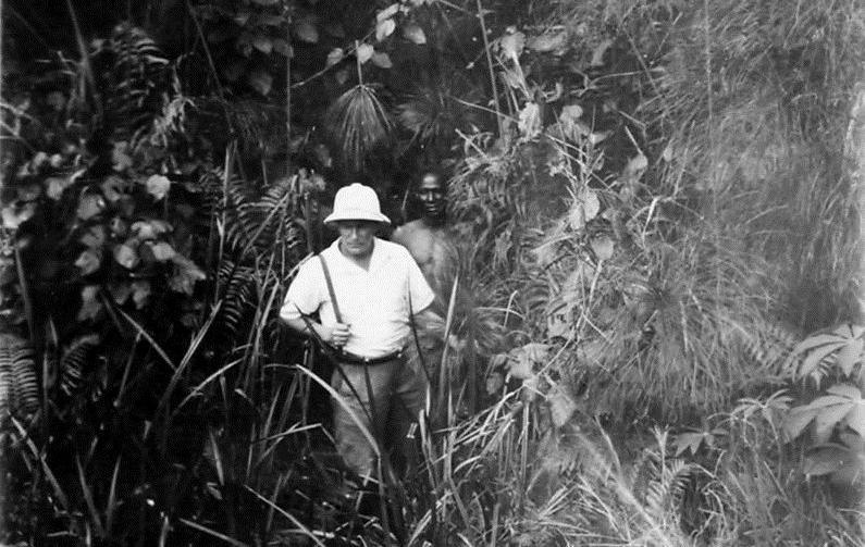 Papyrus, près de Singolo, vers Pointe Noire. 39 photos d'A.E.F. en 1924 ; [s.n.] - Source BnF.