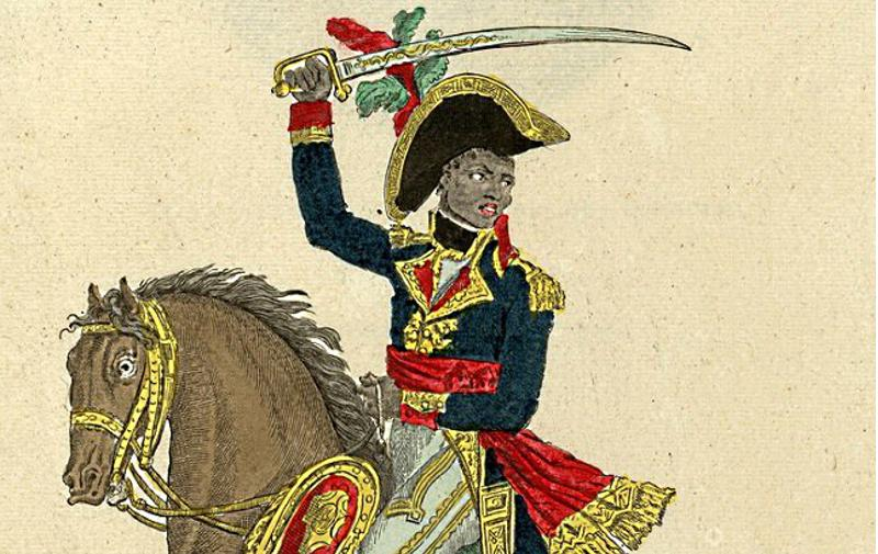 Toussaint Louverture : chef des noirs insurgés de Saint Domingue ; 1796-1799 - Source BnF