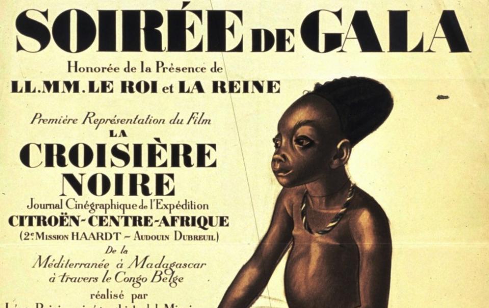 La croisière noire - affiche d'Iakovleff - 1926 - Source : Gallica