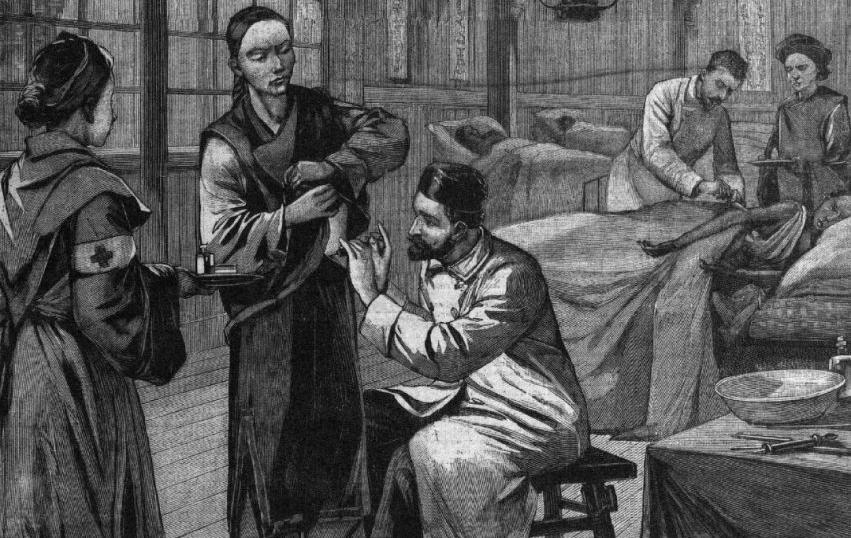 Le Petit Parisien. Supplément littéraire illustré, 7 février 1897 - Source BnF