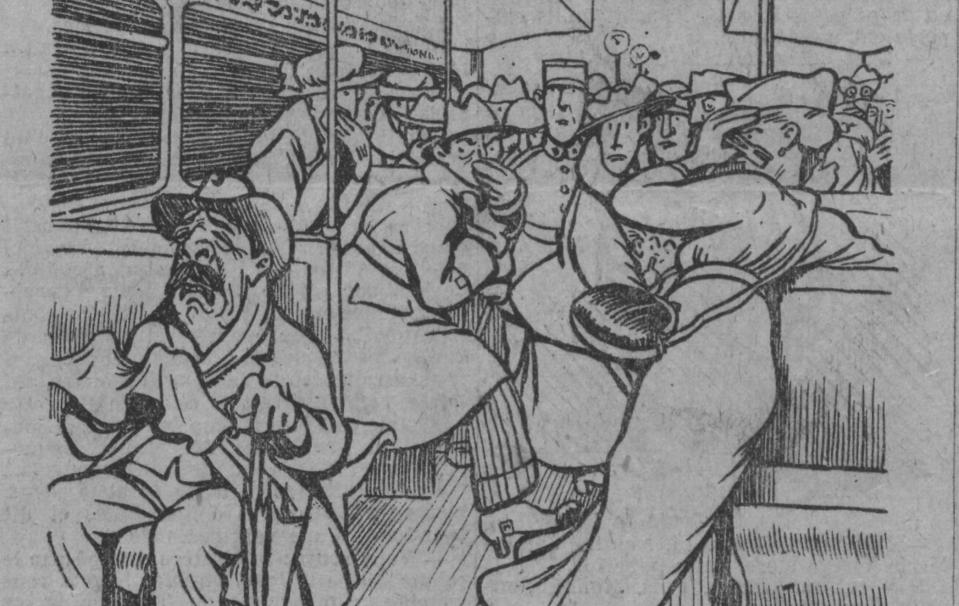 Un male qui répand la terreur ; Le Journal, 23 octobre 1918 - Source BnF.