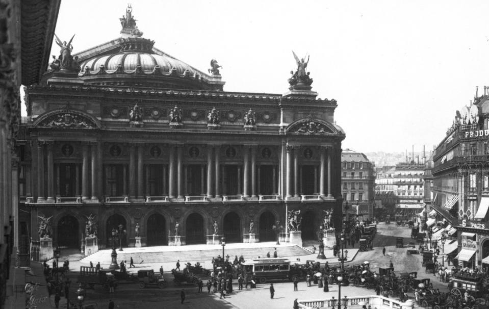 Opéra de Paris ; Agence Rol ; 1911 - Source : BNF
