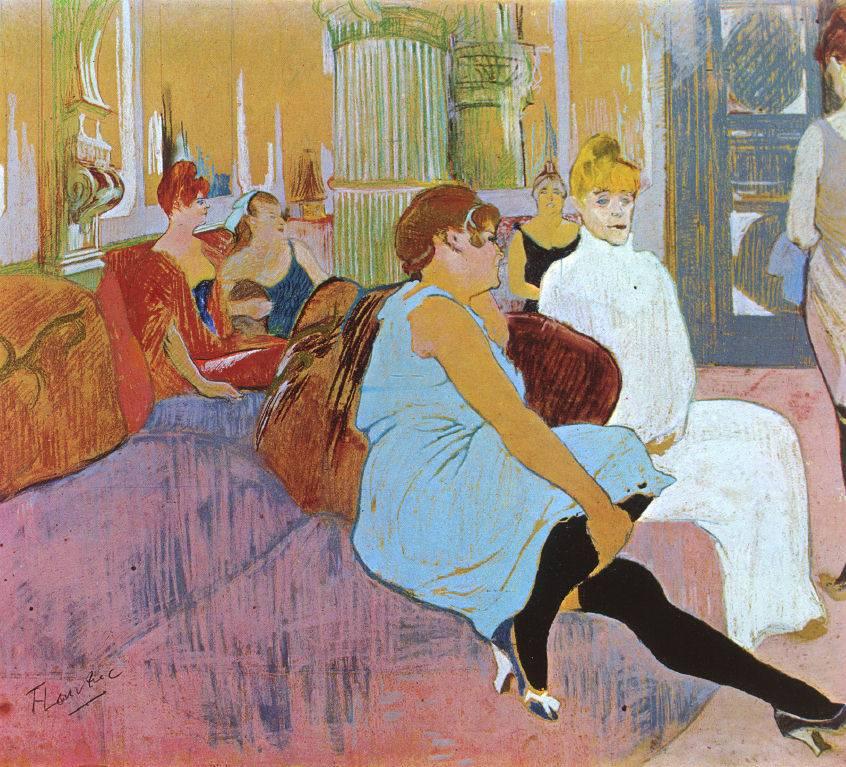 1897 plong e dans les dessous de la prostitution for Salon prostitution paris