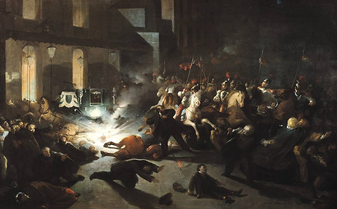 L'attentat contre Napoléon III qui changea le sort de l'Italie