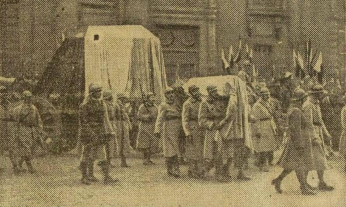 Quand l'inhumation du soldat inconnu agitait la presse française