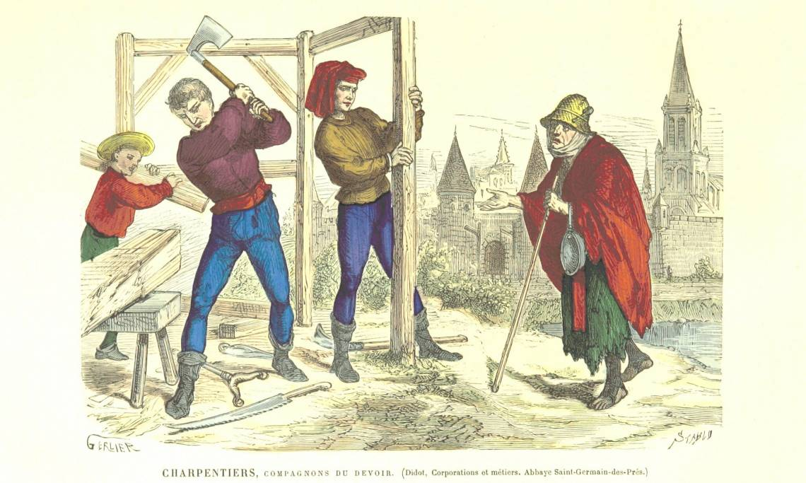 Les Compagnons du devoir, tradition séculaire à l'histoire mouvementée