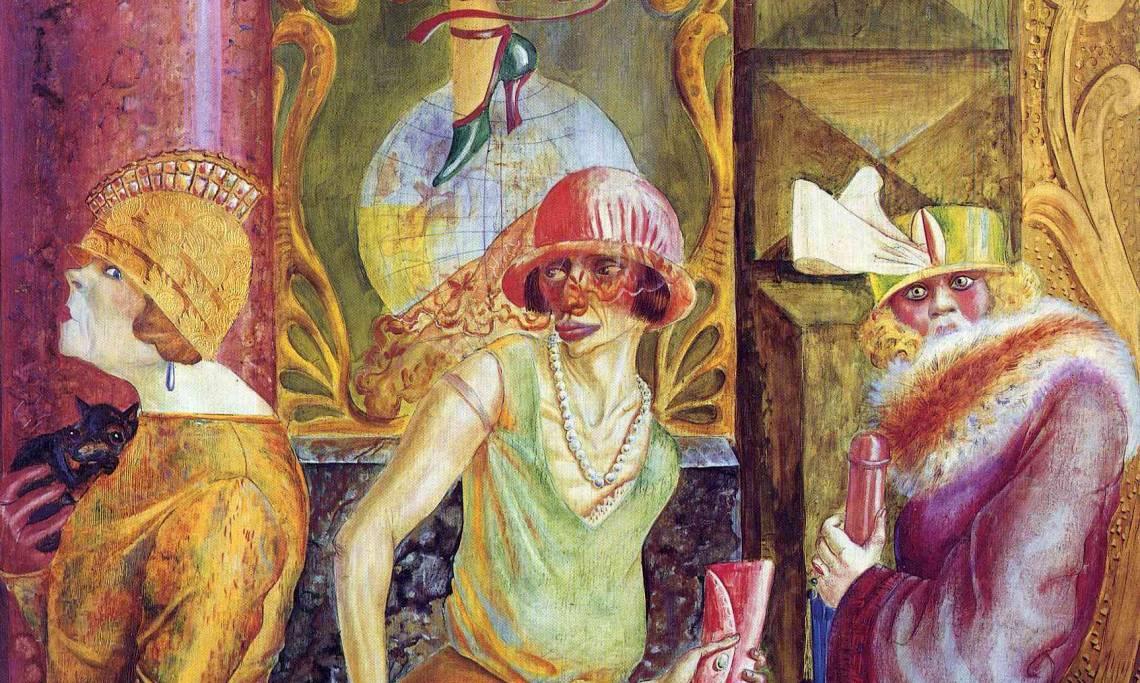Grosz Dix Beckmann Trois Peintres Face A L Allemagne De Weimar Retronews Le Site De Presse De La Bnf