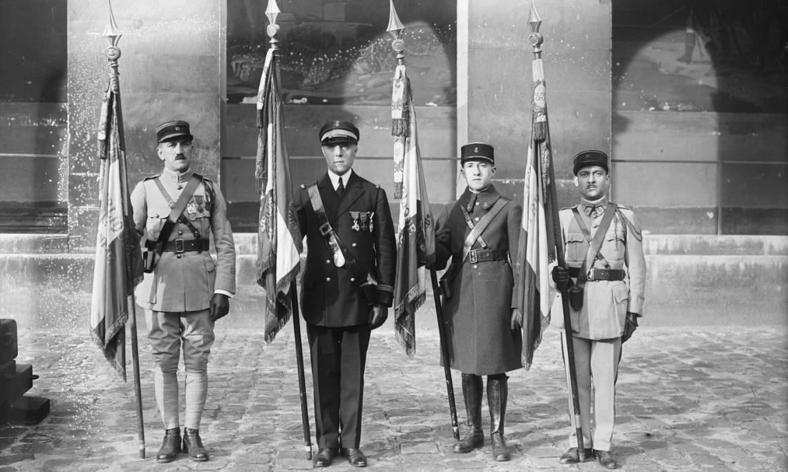 11 novembre 1926, célébration de l'armistice de 1918 - source : Gallica-BnF