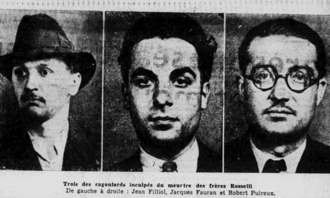 Un historien a retrouvé le nationaliste français assassin des frères Rosselli