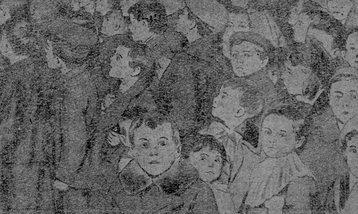Au Noël américain du Palais de Glace, 400 orphelins français reçoivent des cadeaux, Le Journal, 26 décembre 1918 - source : RetroNews-BnF
