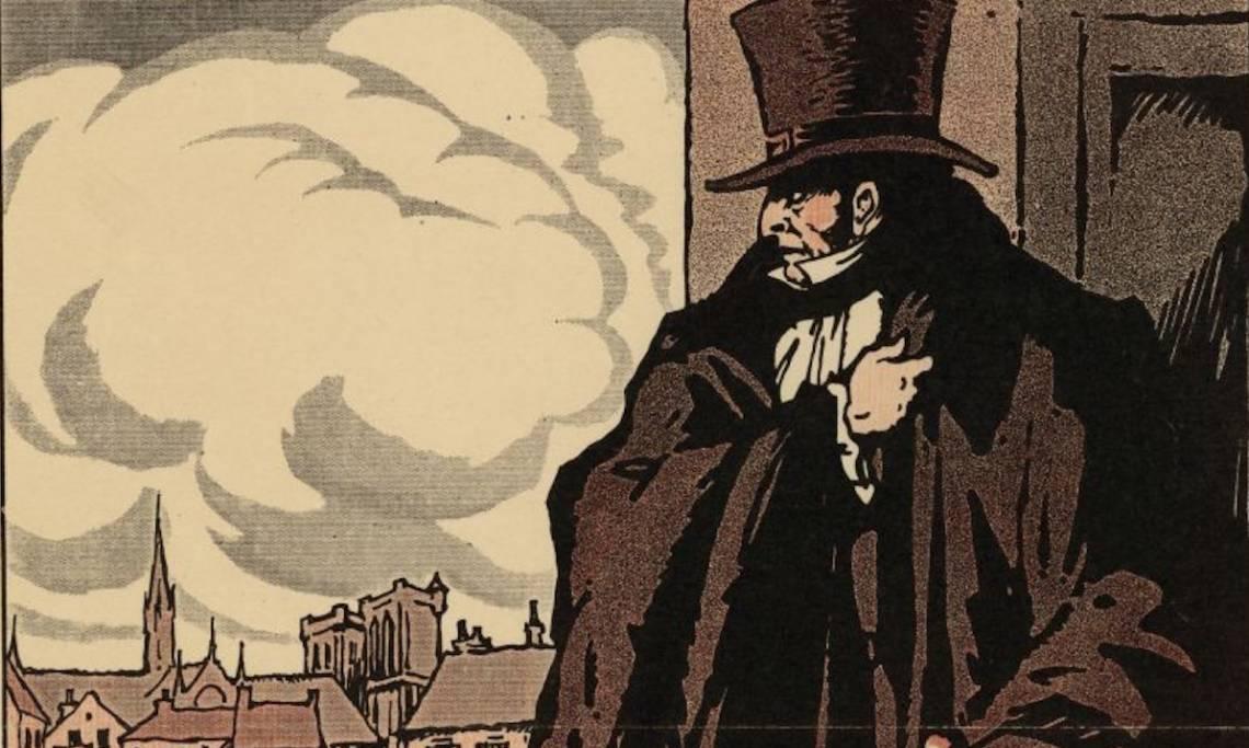 Affiche promotionnelle en faveur du « grand film en dix épisodes Vidocq », 1923 - source : Gallica-BnF