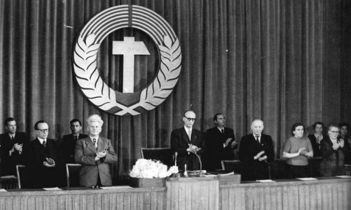 L'entrée en vigueur de la première constitution de RDA