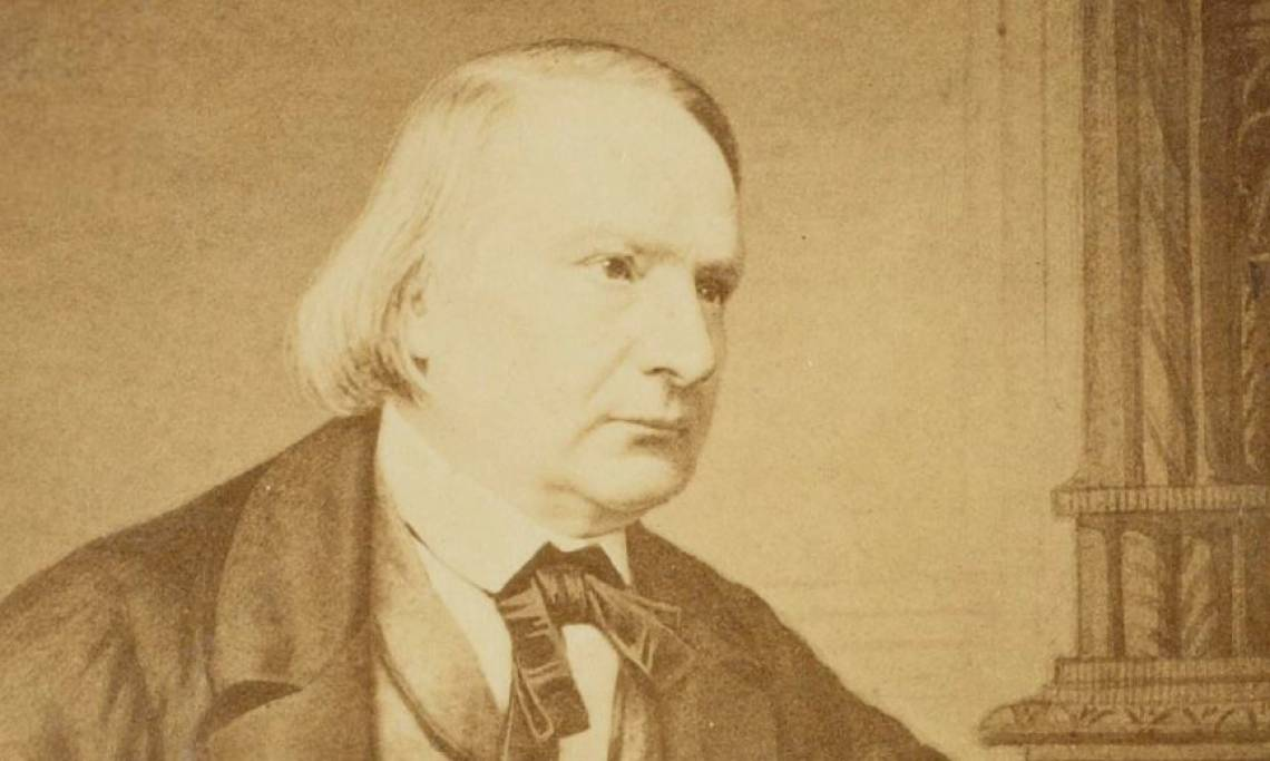Photographie de Victor Hugo, écrivain et député, circa 1850 - source : Gallica-BnF