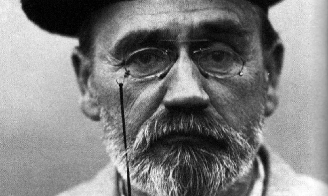 Photographie d'Emile Zola, 1902 - source : WikiCommons