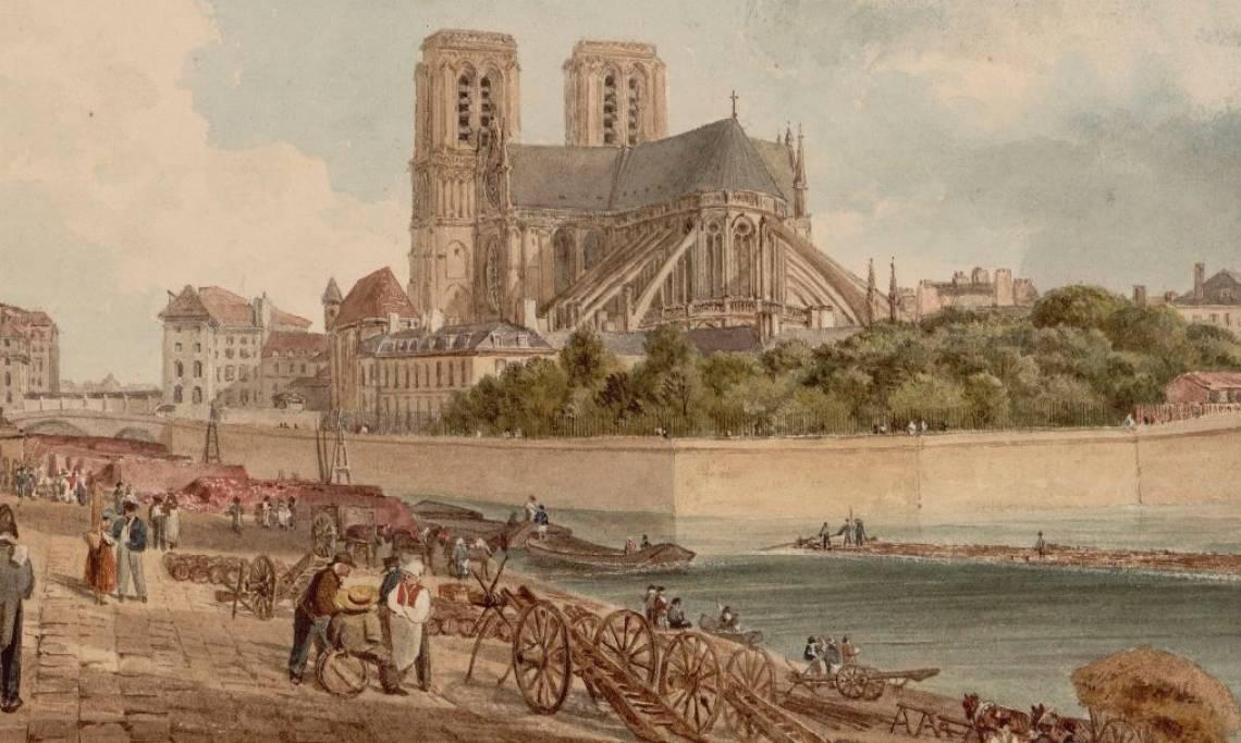 Visions du Moyen Âge : l'histoire de la restauration de Notre-Dame