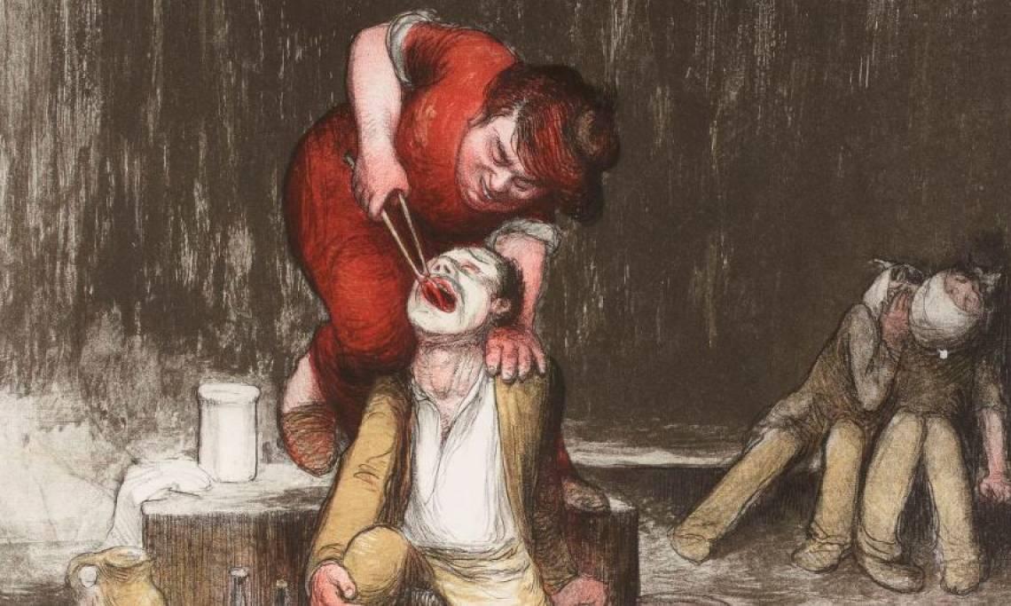 Petite histoire de « l'art dentaire », de l'arracheur de dents au chirurgien-dentiste