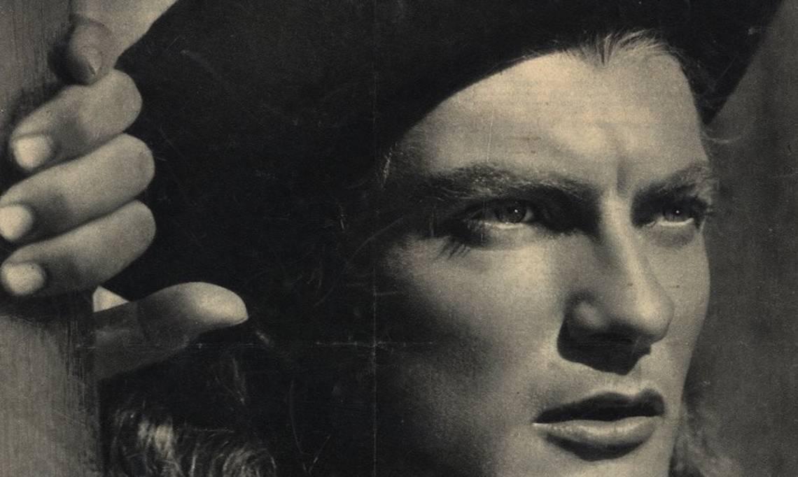 L'acteur Jean Marais en couverture de l'hebdomadaire de cinéma Cinévie, 24 octobre 1945 - source : Gallica-BnF