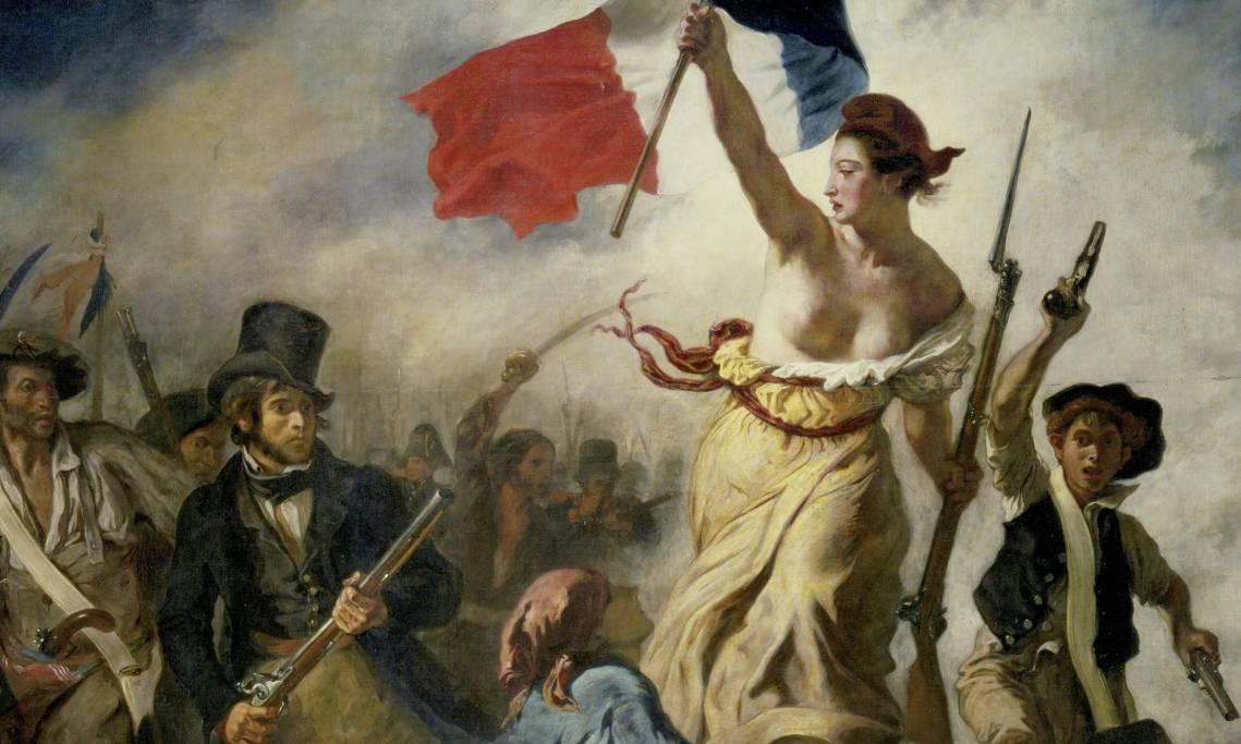 « La Liberté guidant le peuple», tableau d'Eugène Delacroix, 1830 - source : WikiCommons