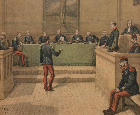 1894 : le capitaine Dreyfus condamné au bagne à perpétuité