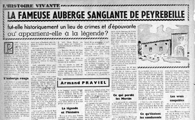 La légende de l'auberge rouge | RetroNews - Le site de presse de la BnF