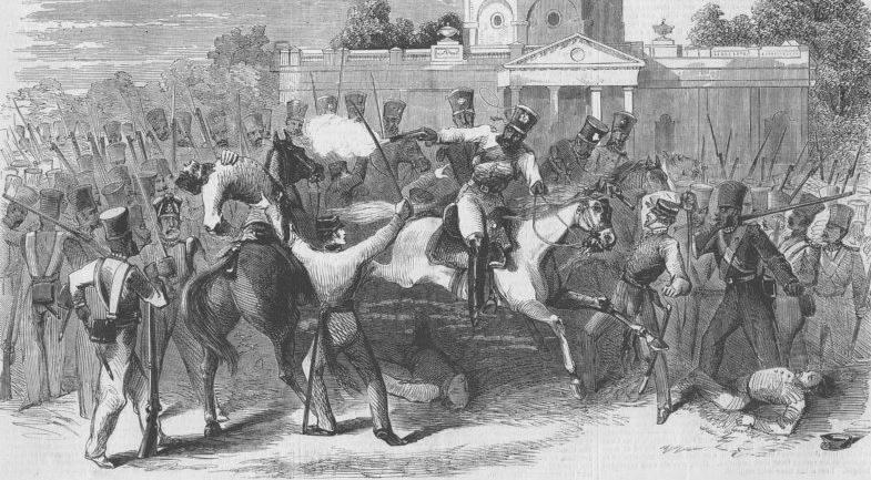 L'écrasement de la révolte indienne de 1857