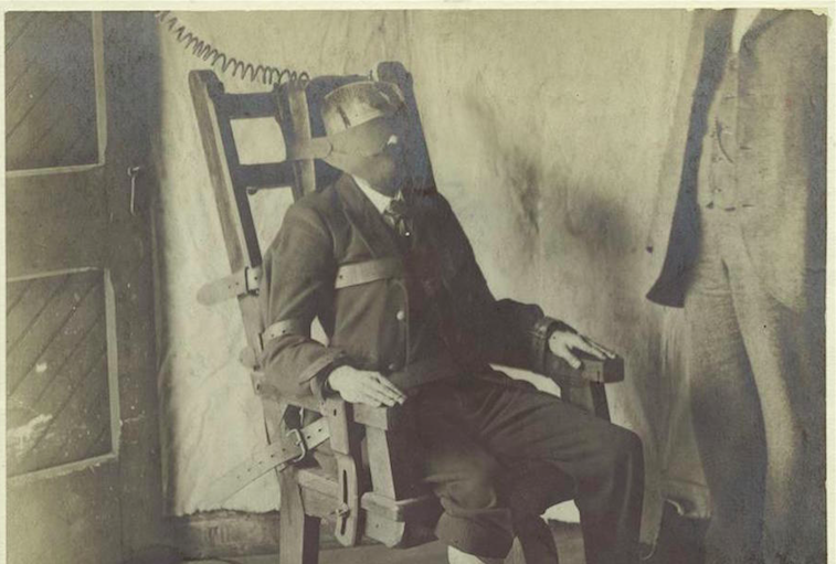 La Première Exécution Sur Une Chaise électrique Retronews Le