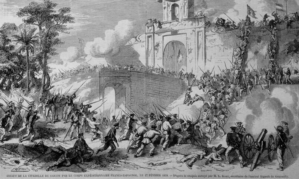 La campagne de Cochinchine, coup d'envoi de la colonisation de l'Indochine