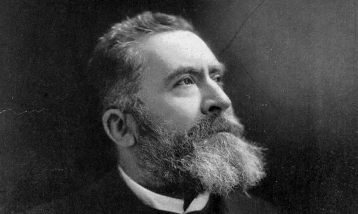 Jean Jaurès, défenseur de l'impôt sur le revenu en France, en 1911 - source : WikiCommons