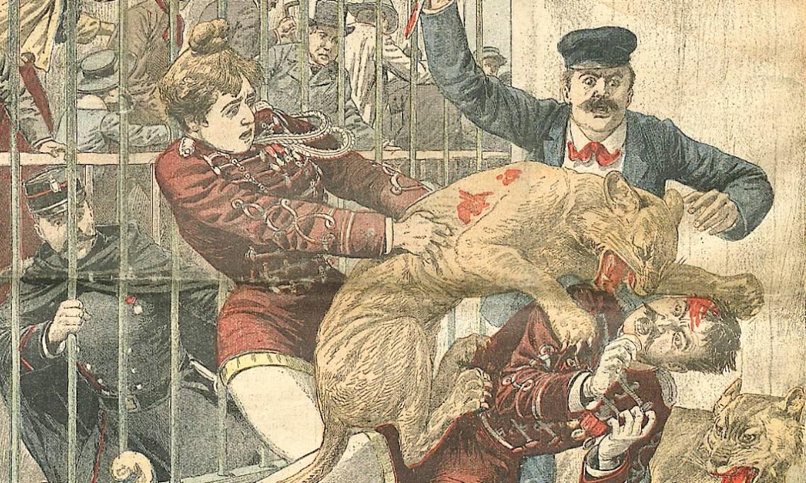 dcc7f62ff6aee Lorsque la « Goulue » de Montmartre était attaquée par un fauve ...