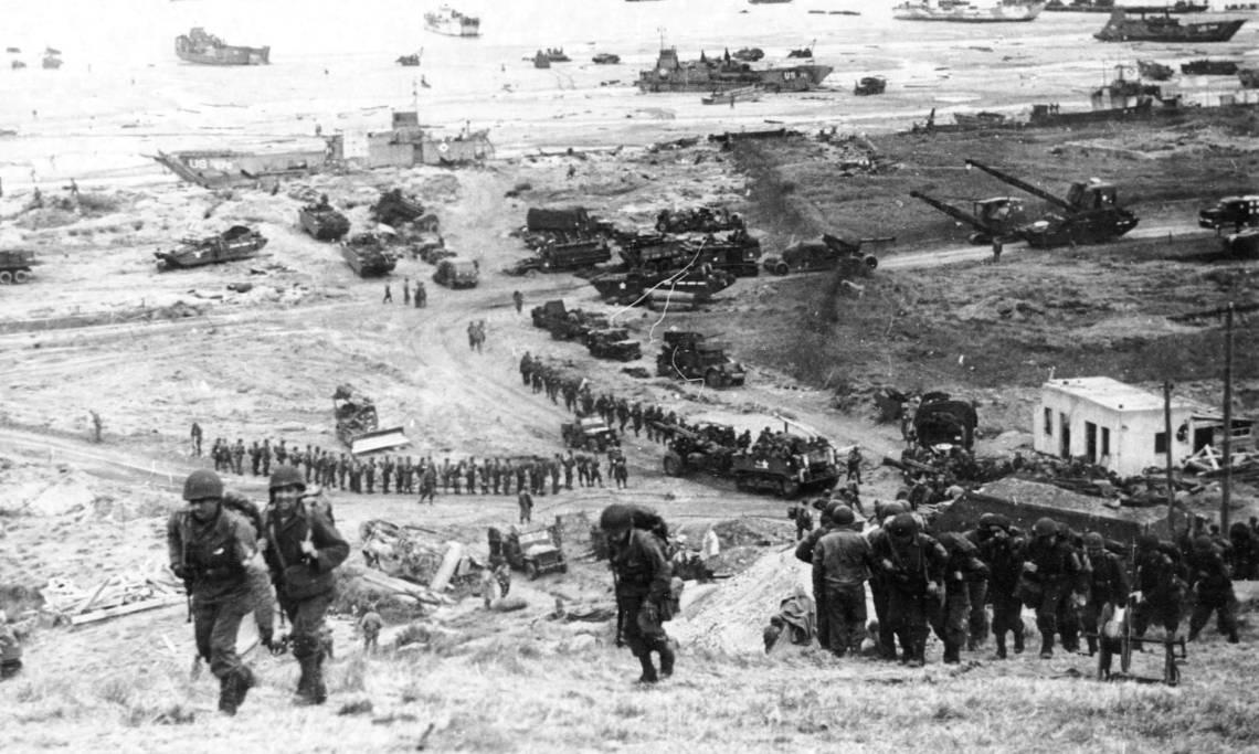 Il Y A 75 Ans Le Debarquement Des Troupes Alliees En Normandie Retronews Le Site De Presse De La Bnf