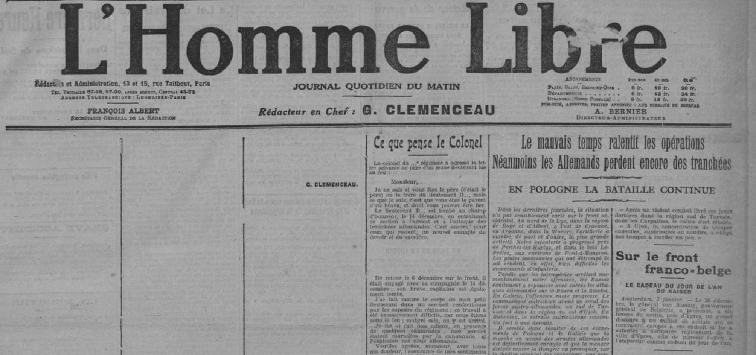 Première Guerre mondiale : 10 grandes dates en 10 journaux d'époque