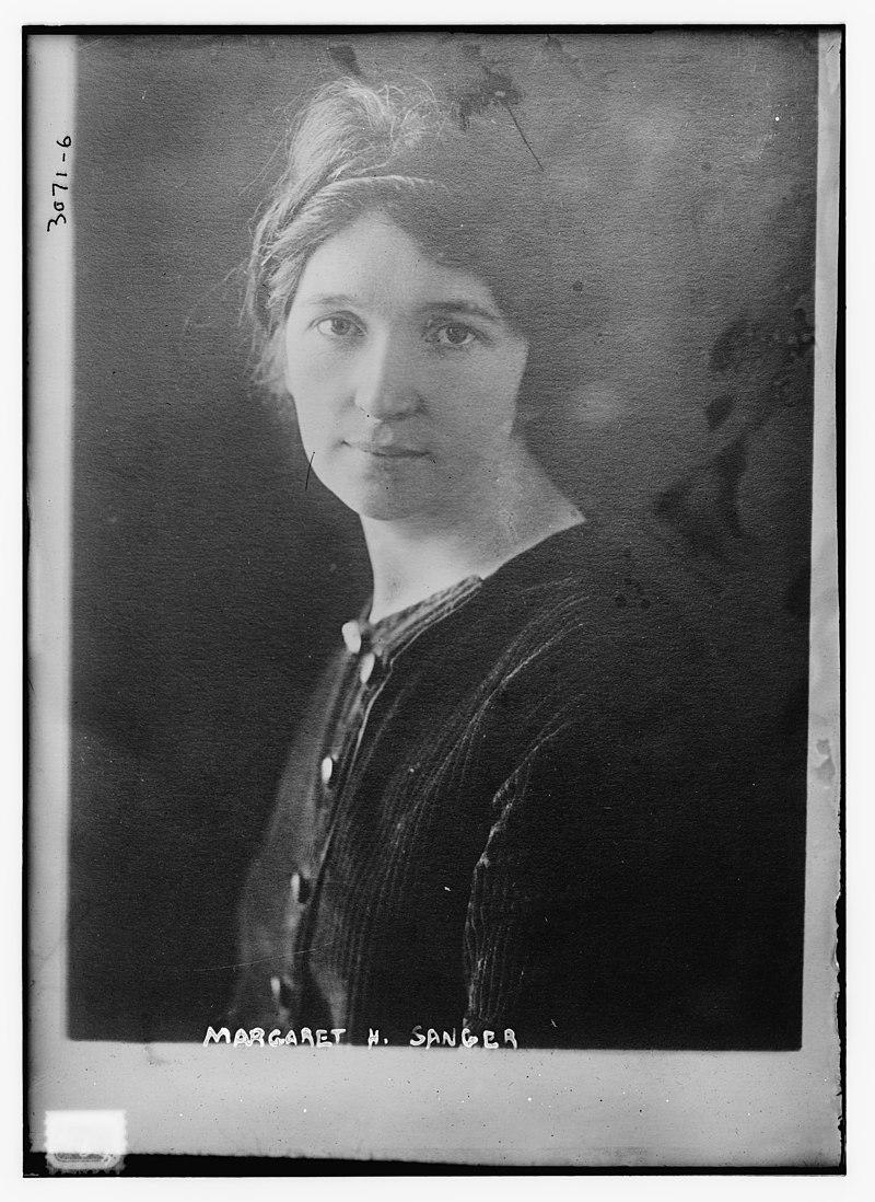 Photo de Margaret H. Sanger en 1910 - source : Library of Congress