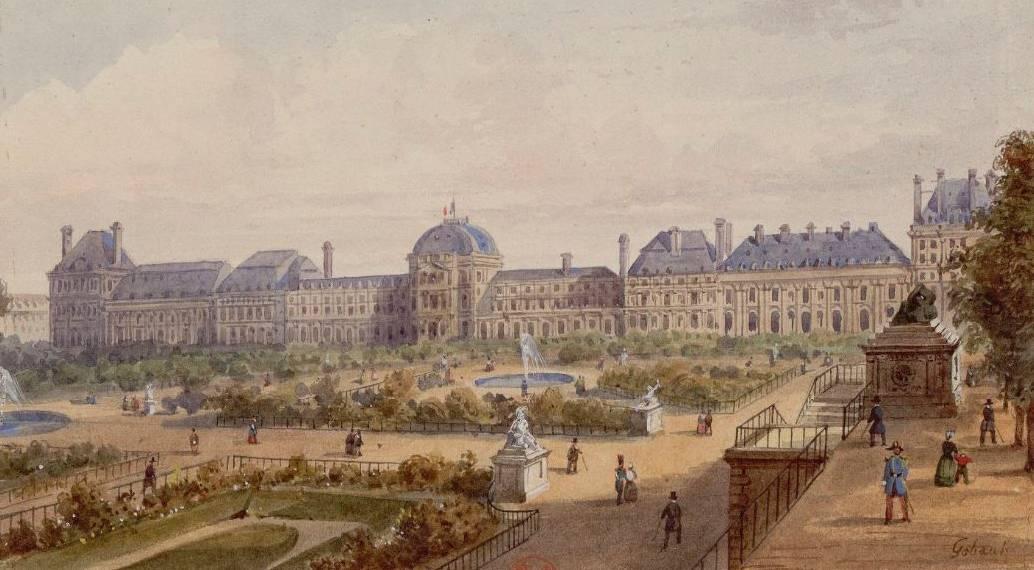 L'incendie du palais des Tuileries par la Commune | RetroNews - Le site de  presse de la BnF