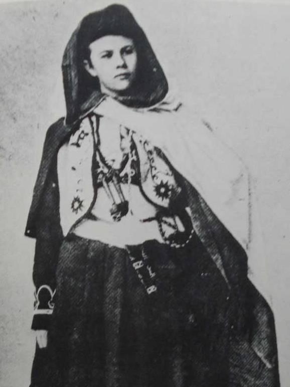 Isabelle Eberhardt, photographie de Louis David, 1895 - source : WikiCommons