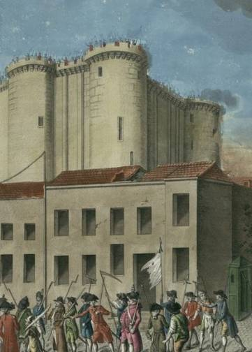 Avant la prise de la Bastille : l'incendie des barrières fiscales de Paris  | RetroNews - Le site de presse de la BnF